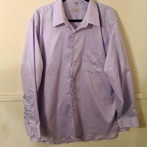 Light Purple Dress Shirt Geoffrey Beene 17.5 34/35